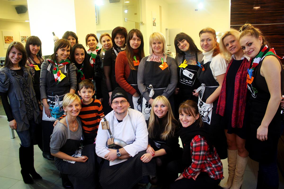 Fundamentals of Italian Cuisine. Cooking classes in Odessa.