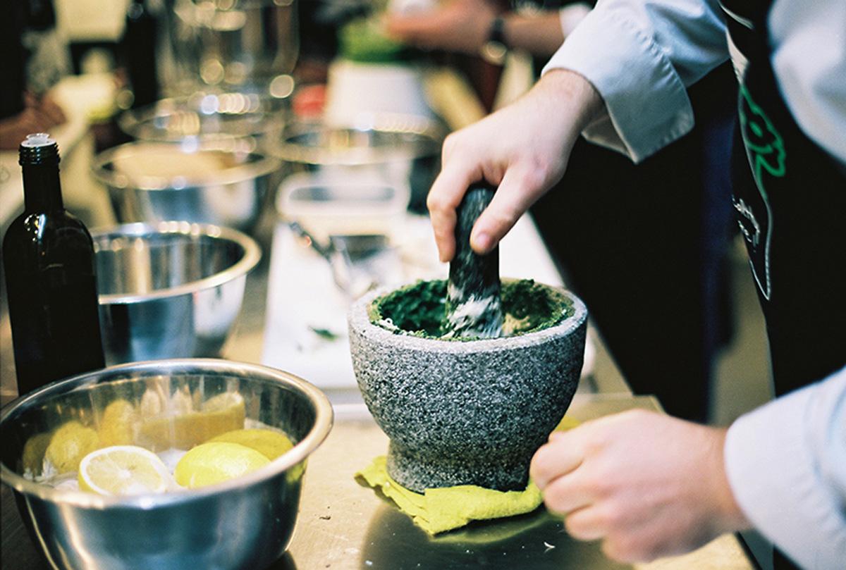 Кулинарный мастер класс Italiano Vero. Одесский блог Марии Каленской о кулинарии.