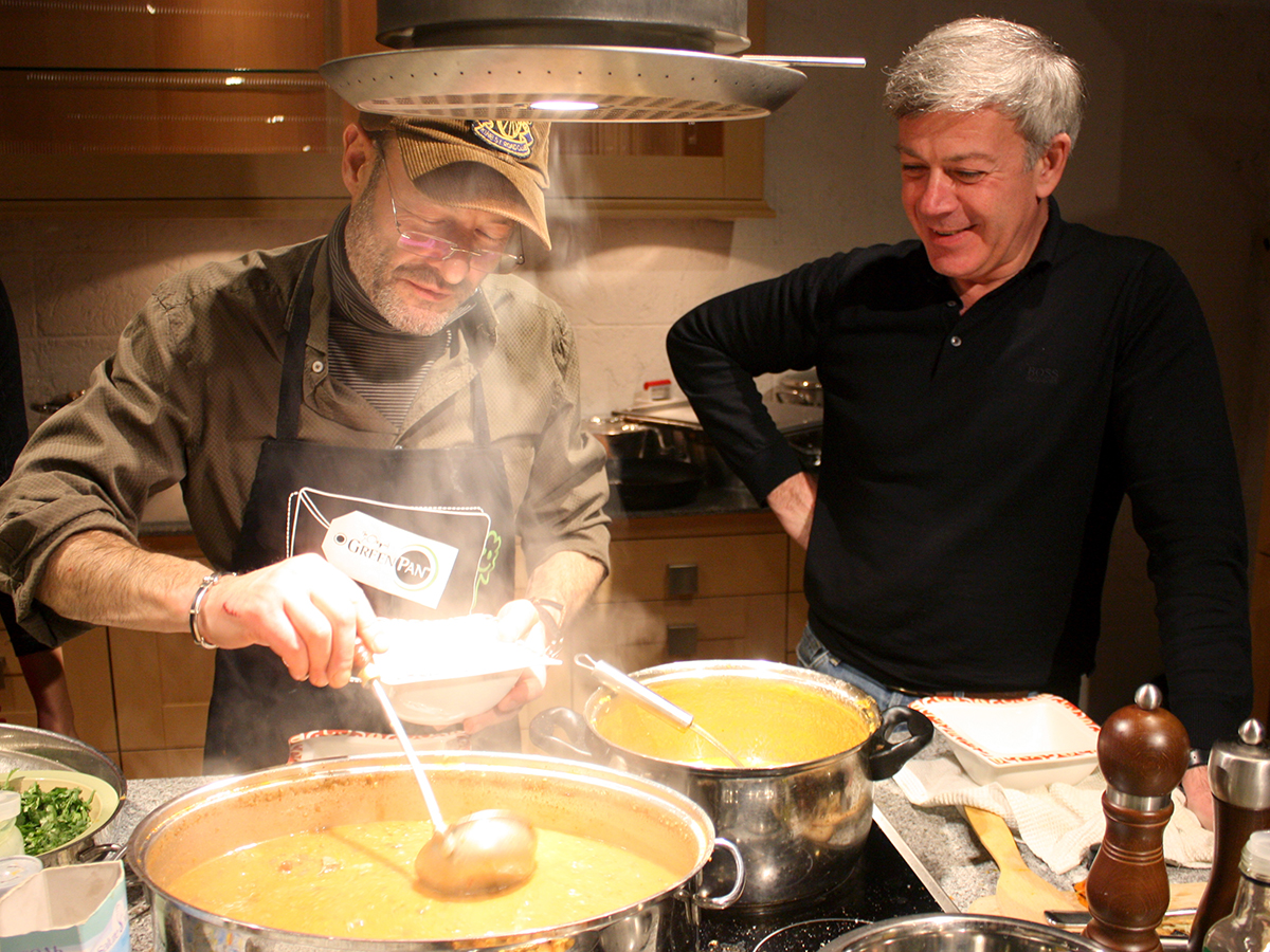 """Lesson """"Four Soups"""". Cooking classes in Odessa."""