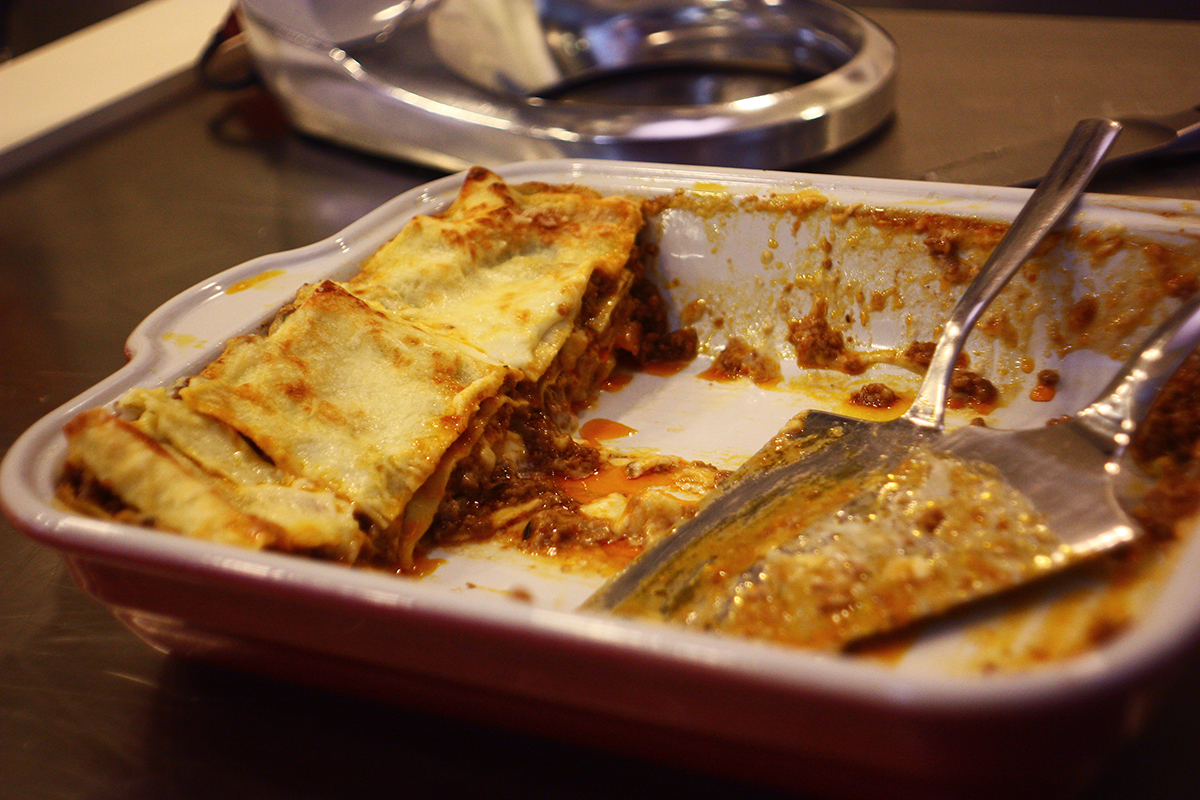 "Secrets of Italian cuisine. How to make lasagna. Сooking school ""My Odessa Cuisine""."
