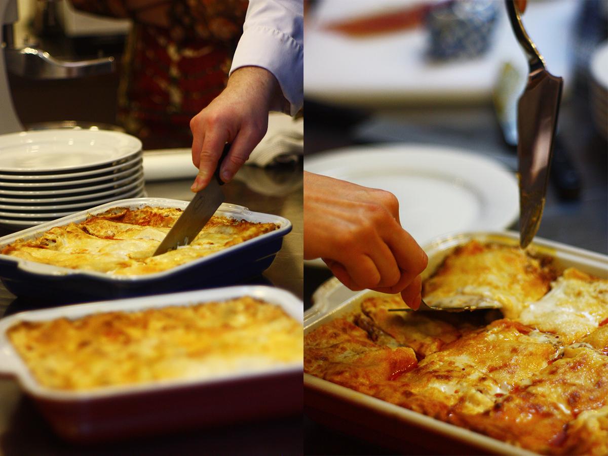 "Lasagna. Lesson ""Tastes of Italy"". Сooking school ""My Odessa Cuisine""."