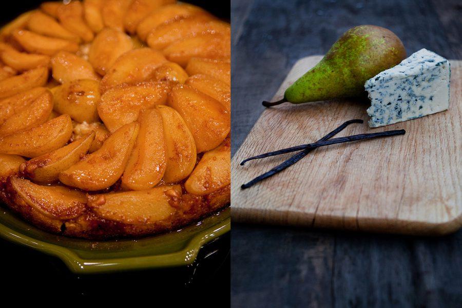 Тарт татен с грушей и сыром Рокфор. Кулинарные сайты. Одесский блог Марии Каленской.