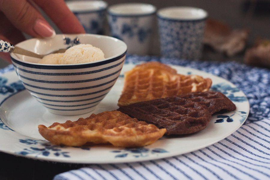 Бельгийские шоколадные вафли. Вкусные рецепты от Марии Каленской.