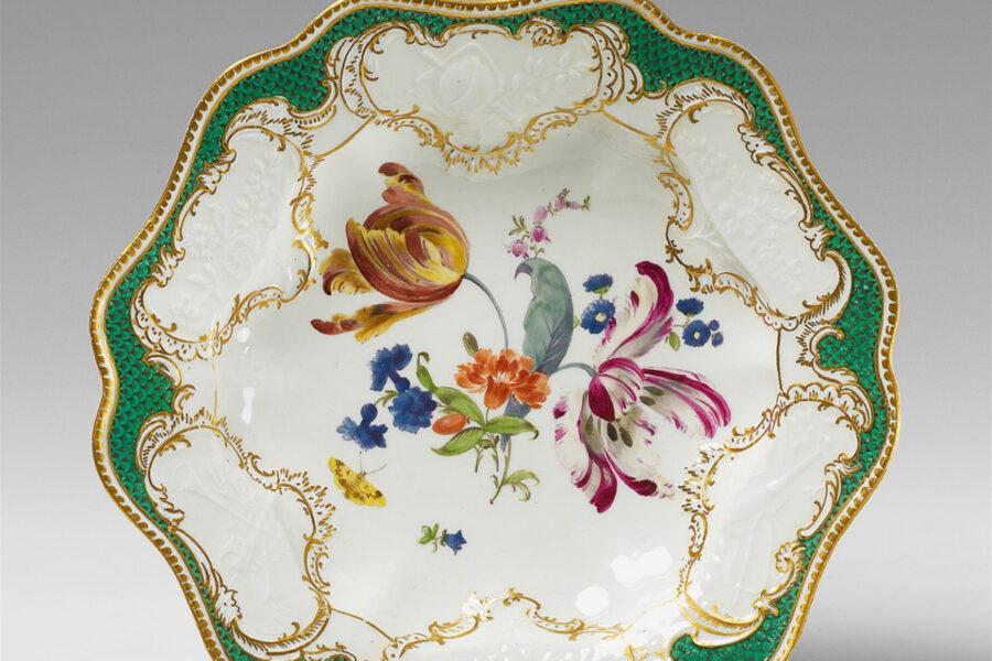 Meissen porcelain with tulips. Maria Kalenska blog about Odessa