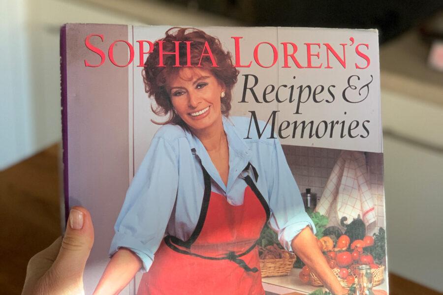 Готовь, как будто занимаешься любовью, книга Софи Лорен. Одесский блог Марии Каленской о кулинарии.