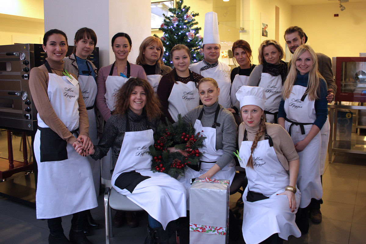 "Course ""French Regional Cuisine"". Сooking school ""My Odessa Cuisine""."