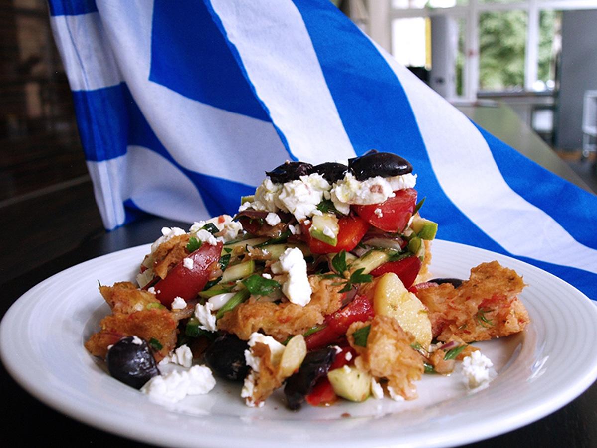 """Lesson """"Cretan Cuisine"""". Сooking school """"My Odessa Cuisine""""."""