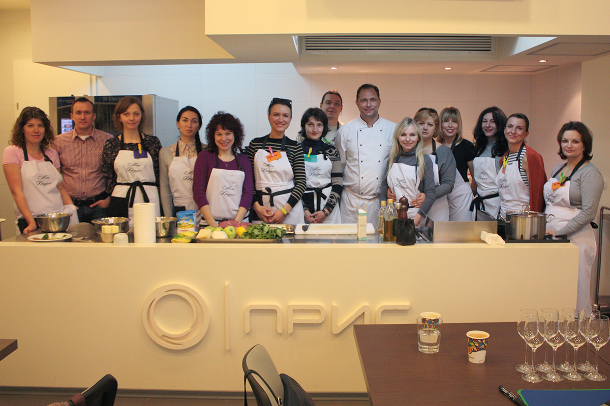 """Course """"Culinary Traditions of Northern Italy"""". Cooking school in Ukraine."""