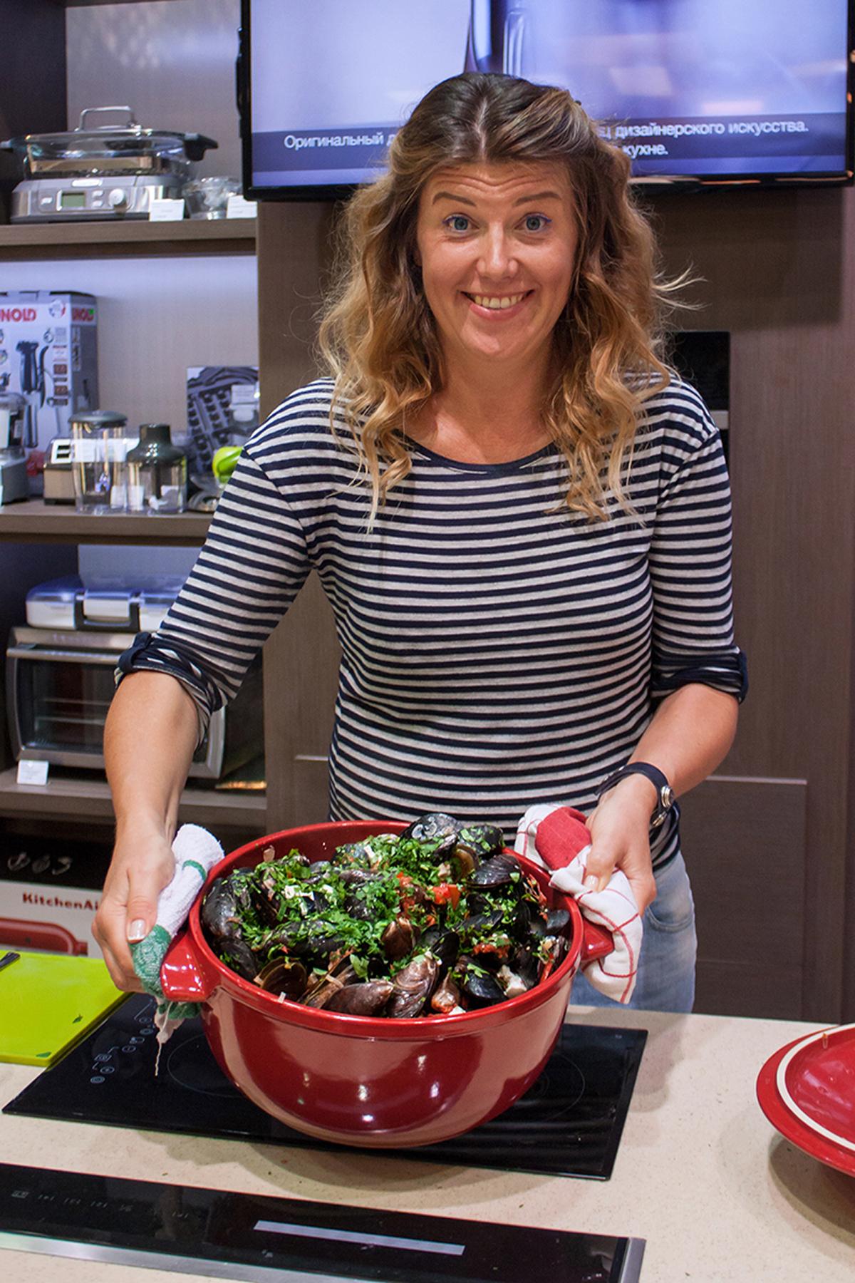 Локаворство - урок для клиентов сети Promenu, посвященный локальной кухне. Кулинарные мастер-классы в Одессе от кулинарного блогера Марии Каленской.