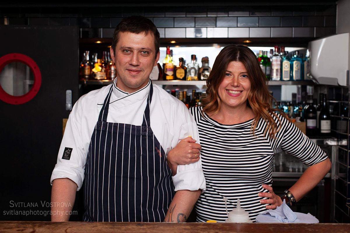 Урок Одесская кухня в Лондоне в ресторане ZIMA наполнил Сохо ароматами из окон одесских кухонь. Кулинарные мастер-классы с Марией Каленской.