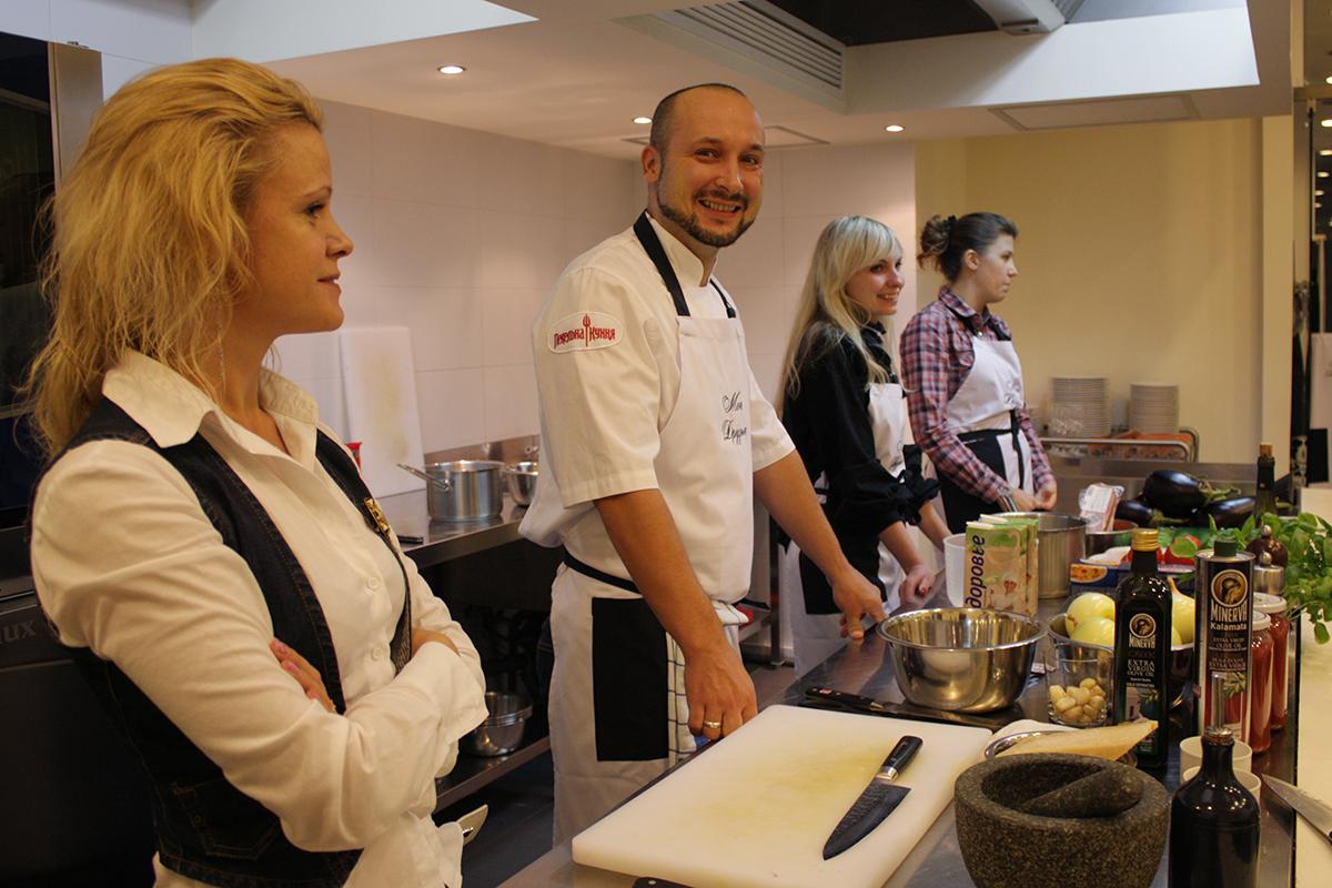 """Lesson """"Pekelna cuisine"""". Сooking school """"My Odessa Cuisine""""."""