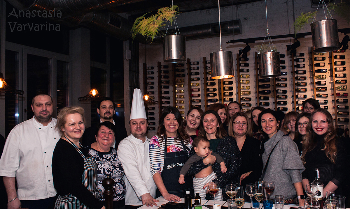 Christmas Charity Lesson. Сooking class with chef in Odessa