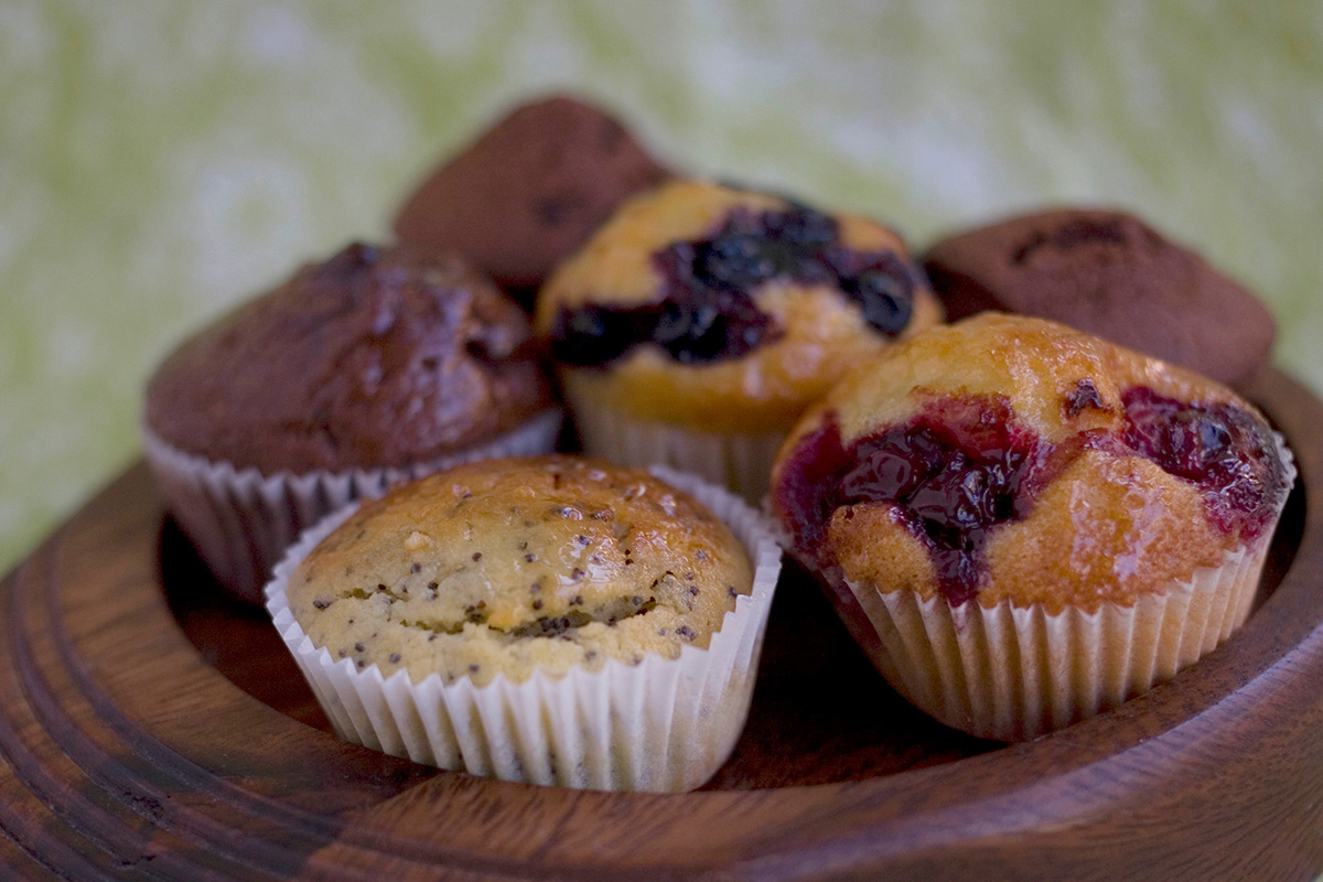"""Muffins. Pastry lessons """"Sweet Secrets 2"""". Cooking school in Ukraine."""