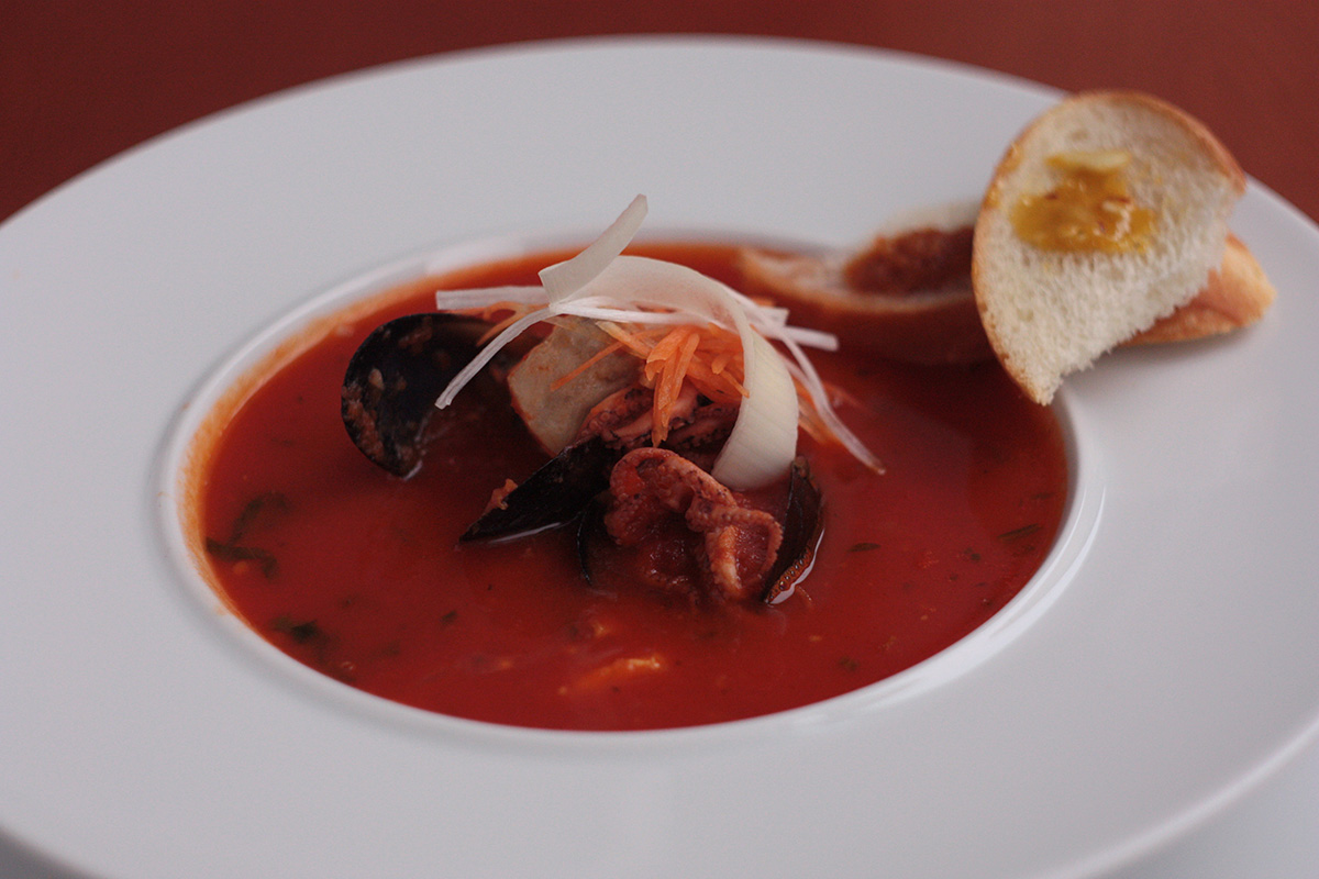 Famous Soups from Three Continents. Cooking school in Ukraine.