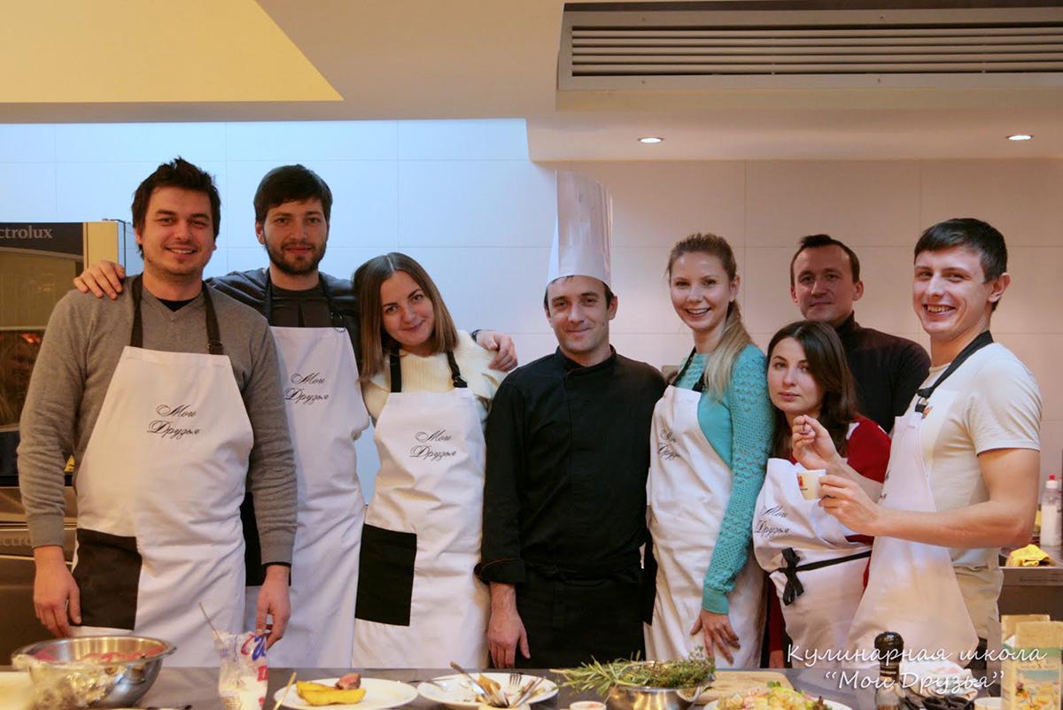 Team Building for Sigma Ukraine. Cooking classes in Ukraine.