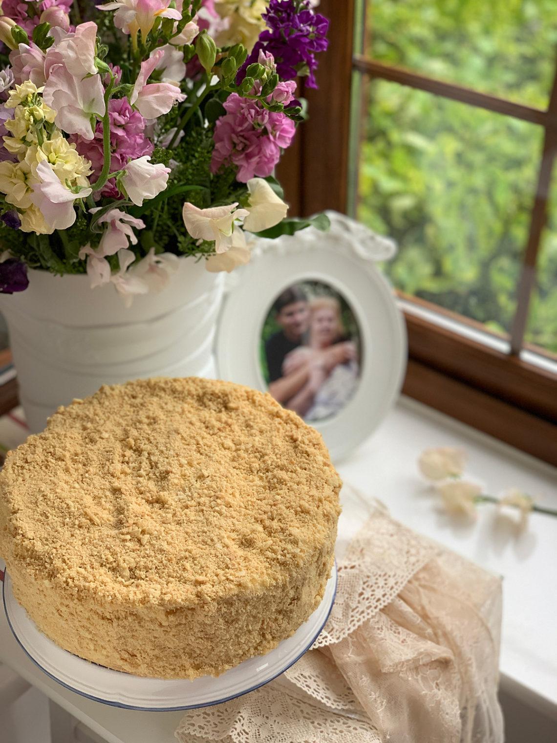 Odessa Napoleon cake. Best food photos and recipes in Maria Kalenska blog