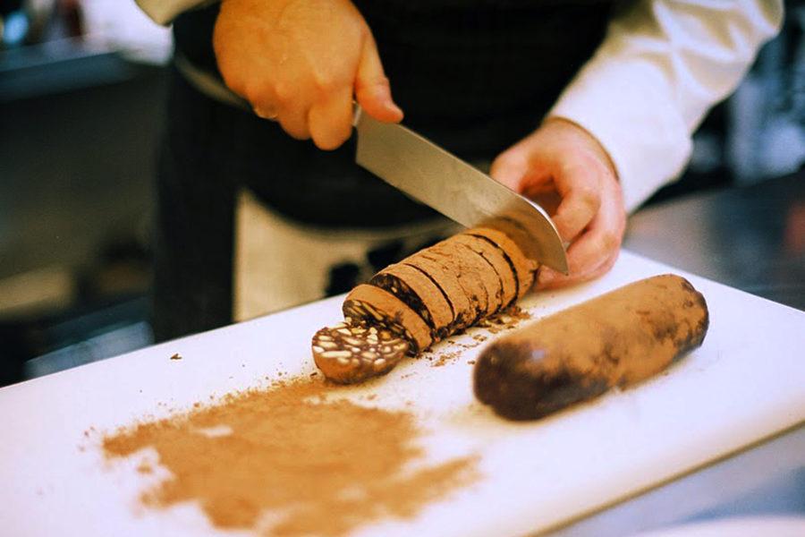Шоколадная салями