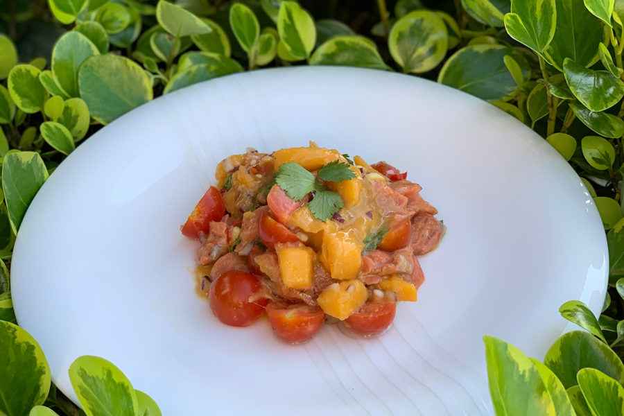 Lima ceviche by Andrei Velichko. Home cooking recipes with step-by-step photos.
