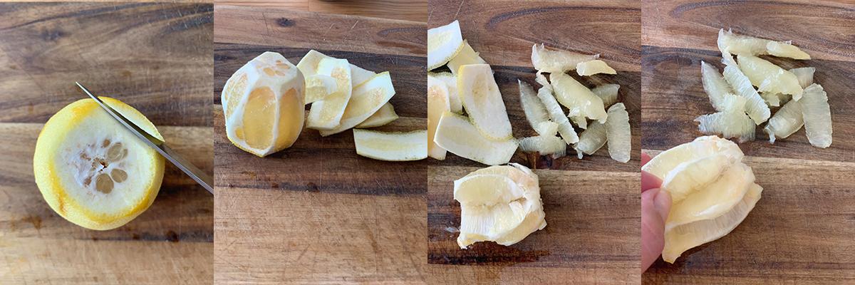 Как легко очистить лимоны