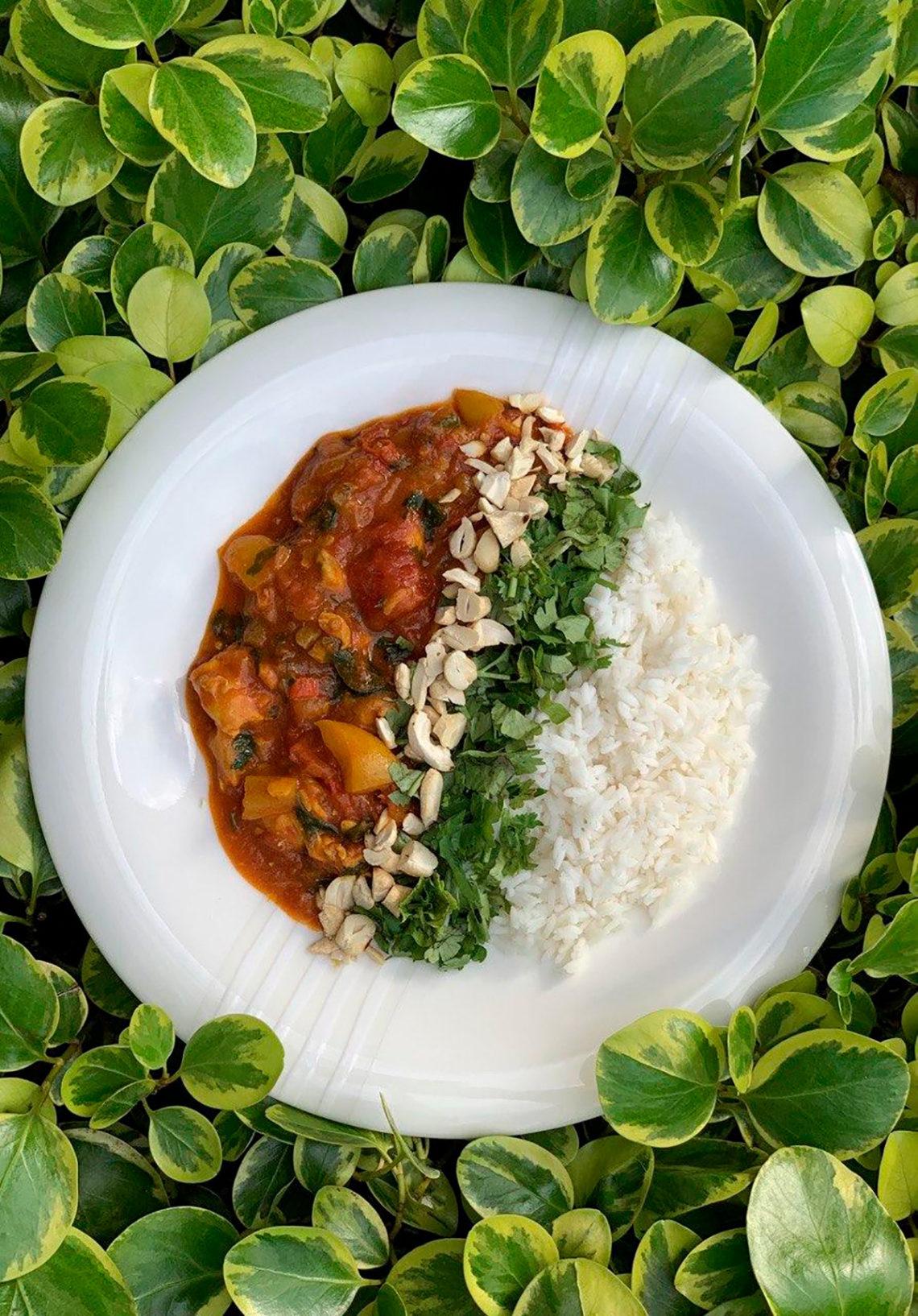 Тайский желтый карри. Сайт кулинарных рецептов Марии Каленской.