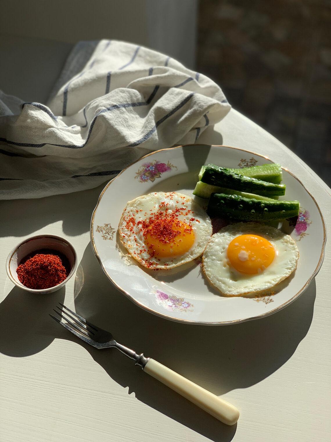 Яичница по-бессарабски. Сайт кулинарных рецептов Марии Каленской.