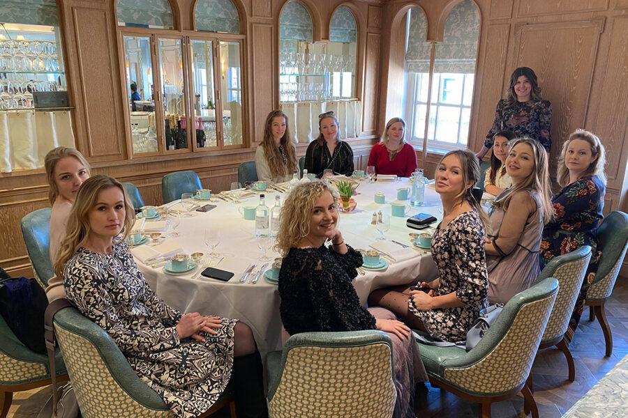 Afternoon Tea и урок по чайному этикету в Fortnum & Mason с фуд-блогером Марией Каленской