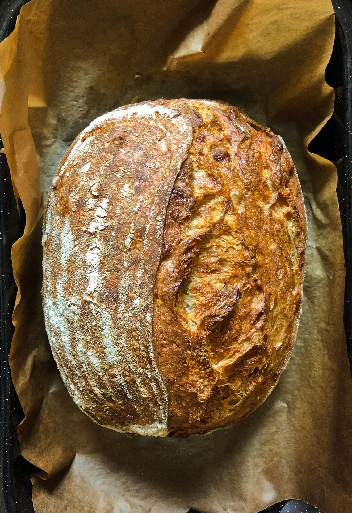 Лёгкий белый хлеб на закваске. Самые вкусные блюда одесской кухни в кулинарном блоге Марии Каленской.