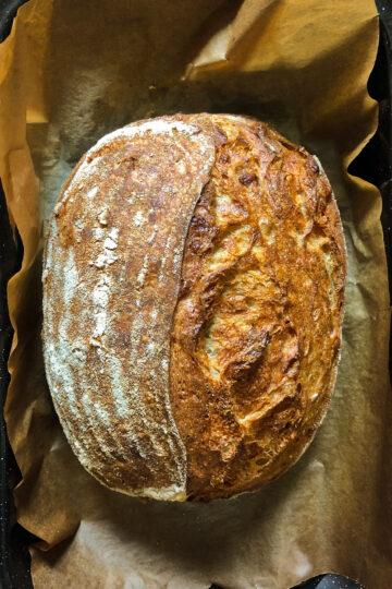 No fail sourdough bread. The best culinary recipes on the gastronomy blog of Maria Kalenska.