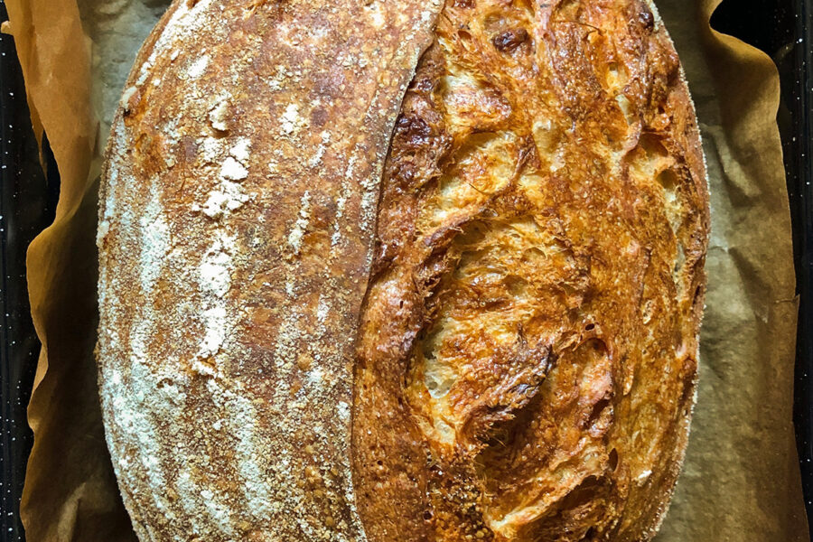 No fail sourdough bread. The best culinary recipes on the gastronomy blog of Maria Kalenska.