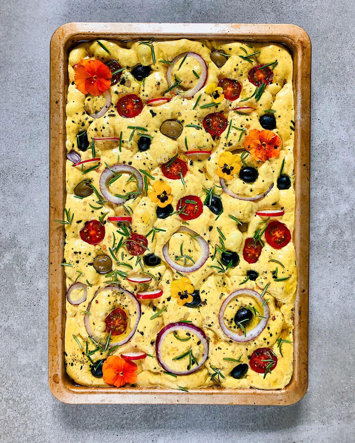 Фоккача на закваске. Самые вкусные блюда одесской кухни в кулинарном блоге Марии Каленской.