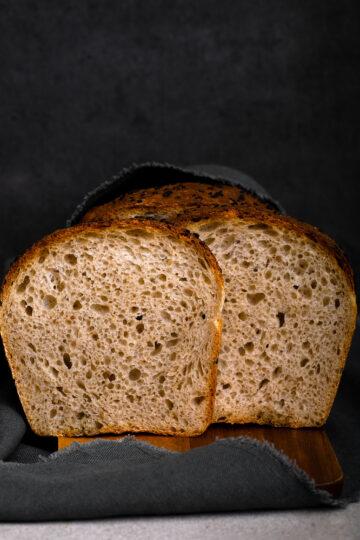 Simple spelt bread by Mykola Nevrev