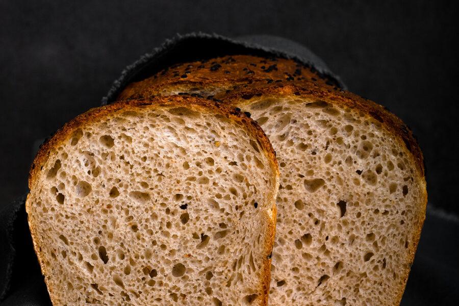 Спельтовый хлеб на закваске пекаря Mykola Nevrev