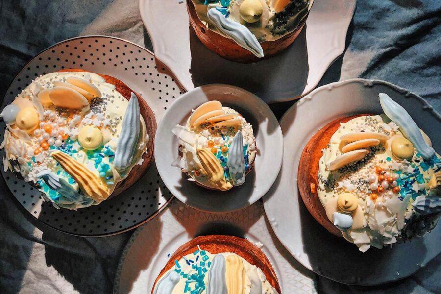 Online-курс по выпечке «ЖИВОЙ ХЛЕБ». Кулинарные уроки для взрослых - пасхальный хлеб.