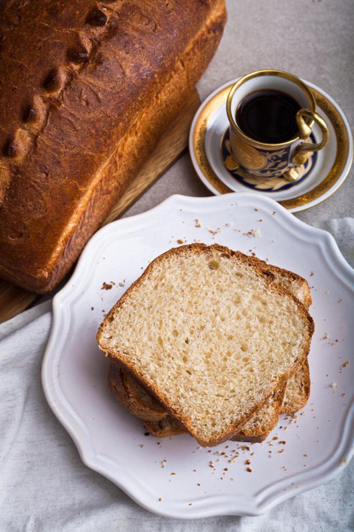 Classic sourdough brioche. The best culinary blog for cooking at home.