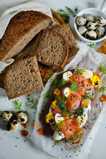 Гречневый хлеб на закваске пекаря Mykola Nevrev на сайте кулинарии фуд-блогера Марии Каленской