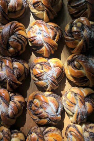 Скандинавские булочки с кардамоном пекаря Mykola Nevrev на сайте кулинарии фуд-блогера Марии Каленской