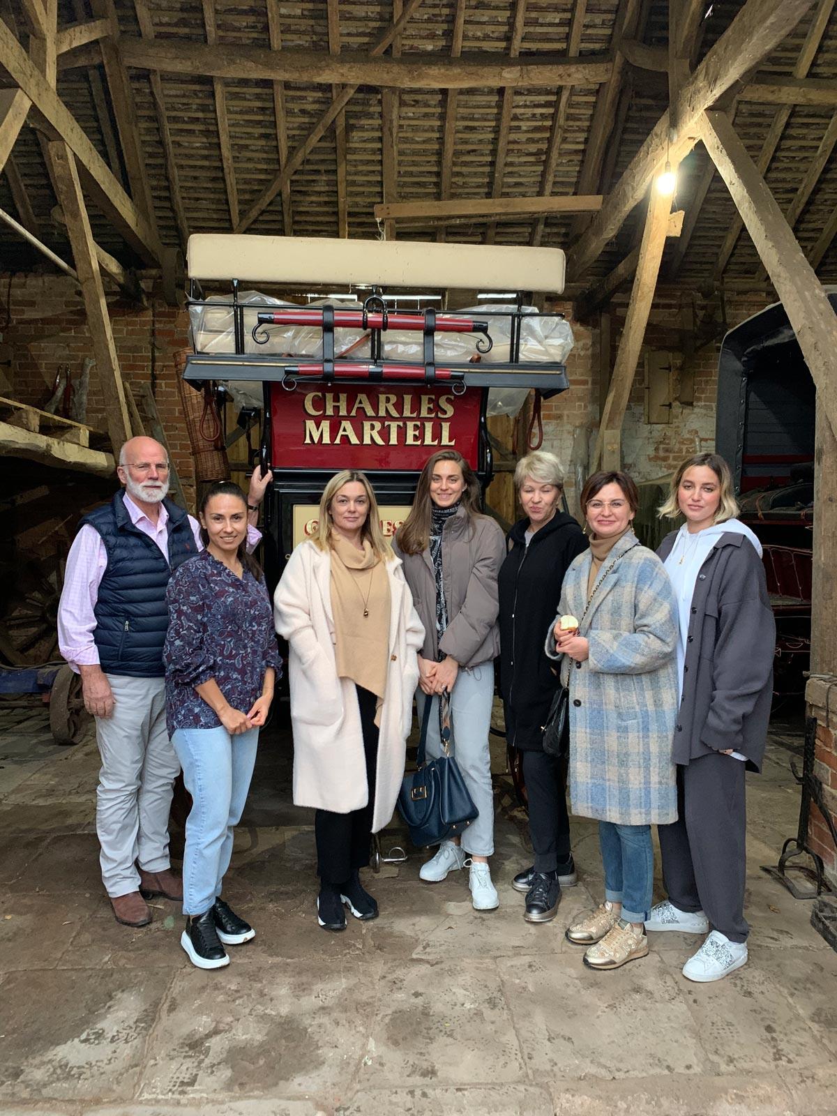 Встреча с семьей знаменитого сыровара Charles Martell. Гастрономические туры Марии Каленской.