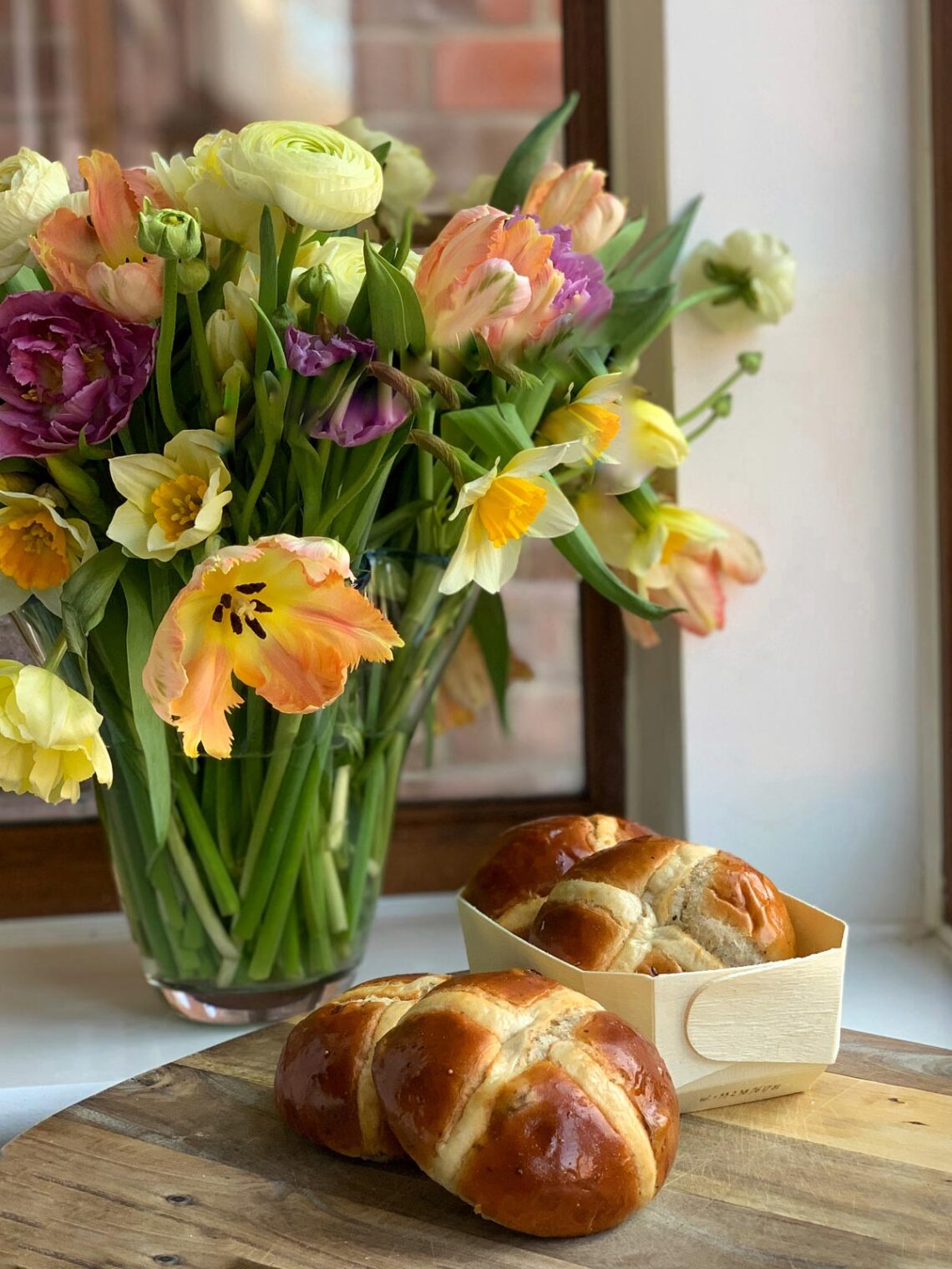 Hot cross buns by Mykola Nevrev on the best culinary blog for cooking at home.