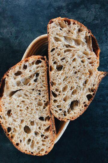 Хлеб с большими дырками пекаря Mykola Nevrev на сайте кулинарии фуд-блогера Марии Каленской