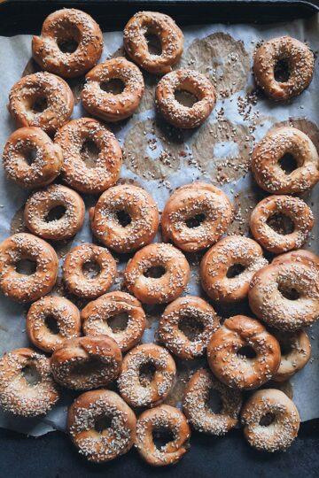 Бейглы на закваске пекаря Mykola Nevrev на сайте кулинарии фуд-блогера Марии Каленской